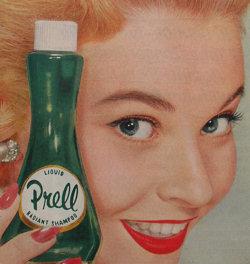 Vintage Shampoo Advertisement